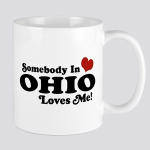 Somebody in Ohio Loves Me Mug